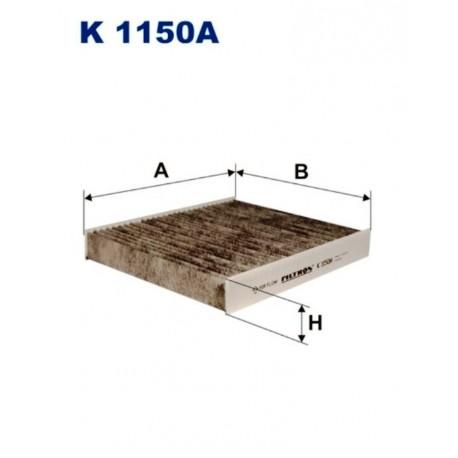 FILTR KABINOWY FILTRON K1150A