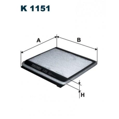 FILTR KABINOWY FILTRON K1151