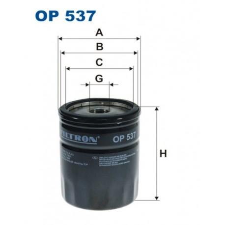 FILTR OLEJU FILTRON OP537