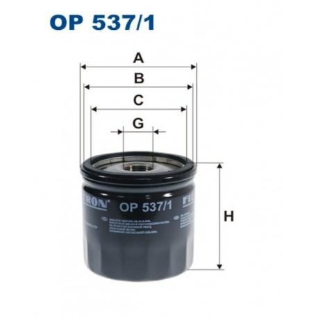 FILTR OLEJU FILTRON OP537/1
