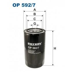 FILTR OLEJU FILTRON OP592/7