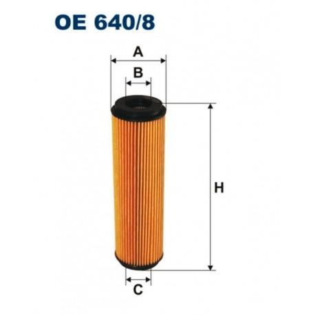 FILTR OLEJU FILTRON OE640/8