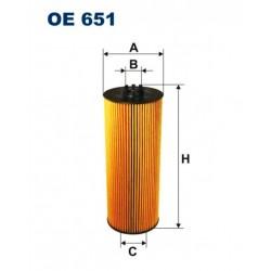 FILTR OLEJU FILTRON OE651