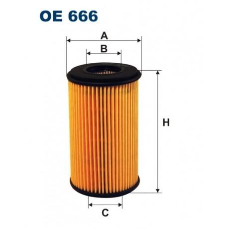 FILTR OLEJU FILTRON OE666