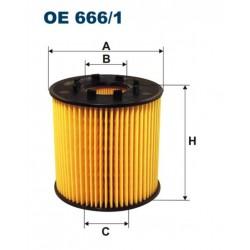FILTR OLEJU FILTRON OE666/1