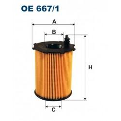 FILTR OLEJU FILTRON OE667/1