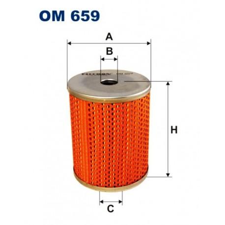 FILTR OLEJU FILTRON OM659
