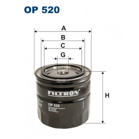 FILTR OLEJU FILTRON OP520