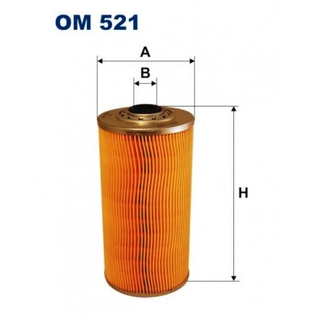 FILTR OLEJU FILTRON OM521