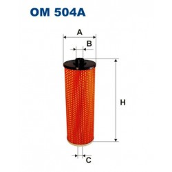 FILTR OLEJU FILTRON OM504A