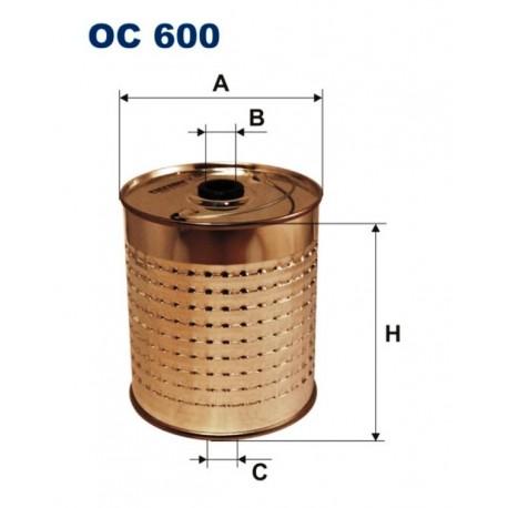 FILTR OLEJU FILTRON OC 600