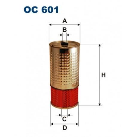 FILTR OLEJU FILTRON OC 601