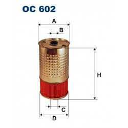 FILTR OLEJU FILTRON OC 602