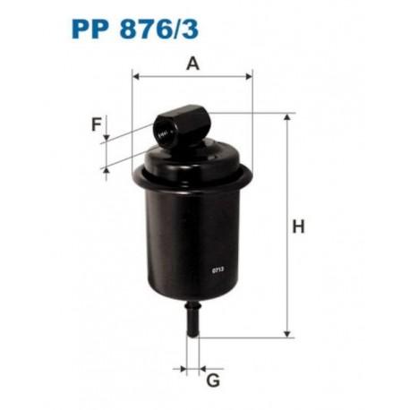 FILTR PALIWA FILTRON PP876/3