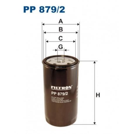 FILTR PALIWA FILTRON PP879/2