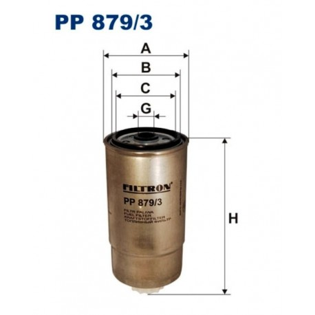 FILTR PALIWA FILTRON PP879/3