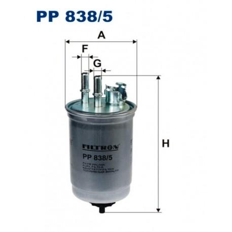 FILTR PALIWA FILTRON PP838/5