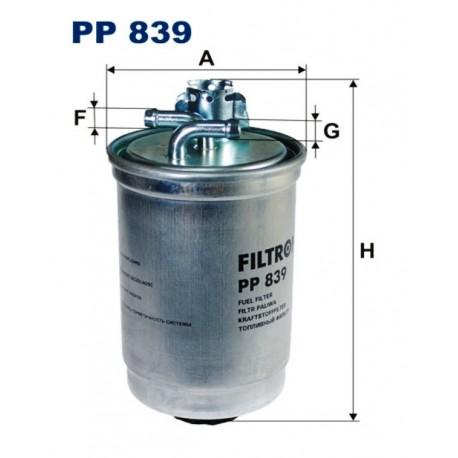 FILTR PALIWA FILTRON PP839