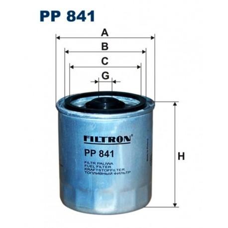 FILTR PALIWA FILTRON PP841