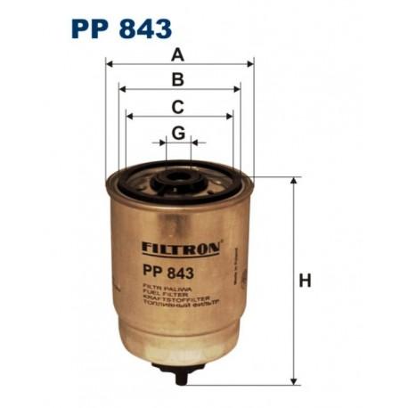 FILTR PALIWA FILTRON PP843