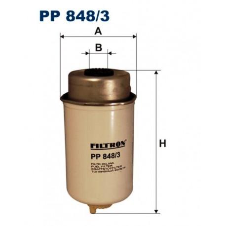 FILTR PALIWA FILTRON PP848/3