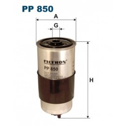FILTR PALIWA FILTRON PP850