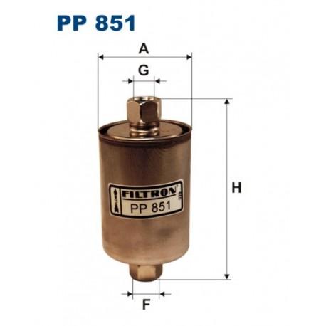 FILTR PALIWA FILTRON PP851