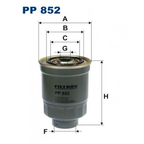 FILTR PALIWA FILTRON PP852