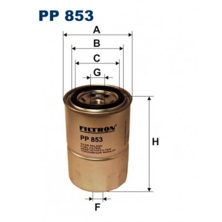 FILTR PALIWA FILTRON PP853