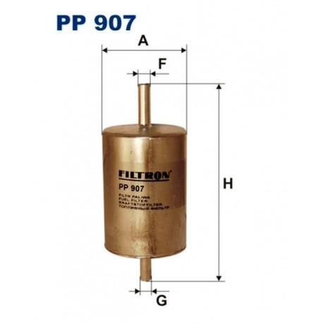 FILTR PALIWA FILTRON PP907