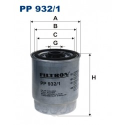 FILTR PALIWA FILTRON PP932/1