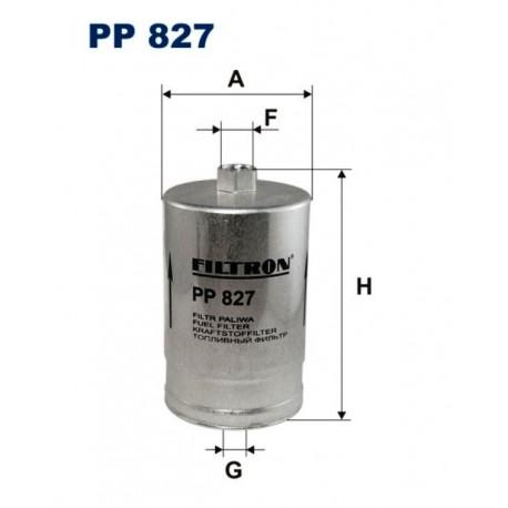 FILTR PALIWA FILTRON PP827