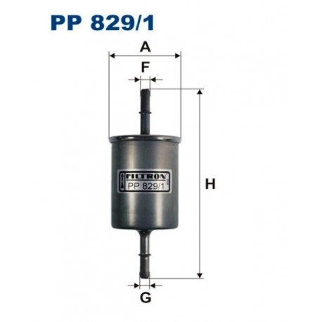 FILTR PALIWA FILTRON PP829/1