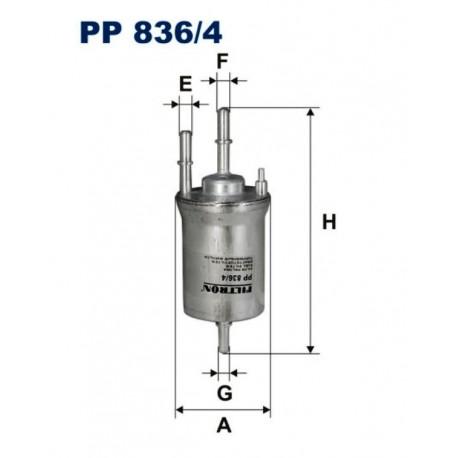 FILTR PALIWA FILTRON PP836/4