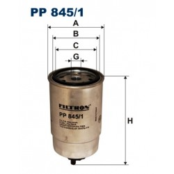 FILTR PALIWA FILTRON PP845/1