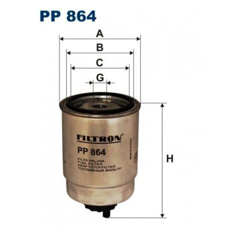FILTR PALIWA FILTRON PP864