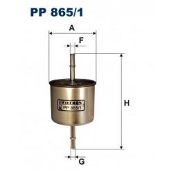 FILTR PALIWA FILTRON PP865/1