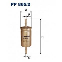 FILTR PALIWA FILTRON PP865/2