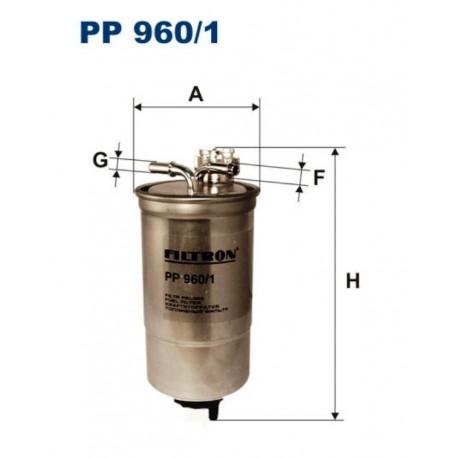 FILTR PALIWA FILTRON PP960/1