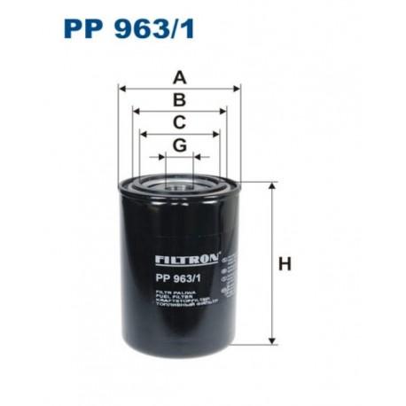 FILTR PALIWA FILTRON PP963/1