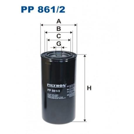 FILTR PALIWA FILTRON PP861/2