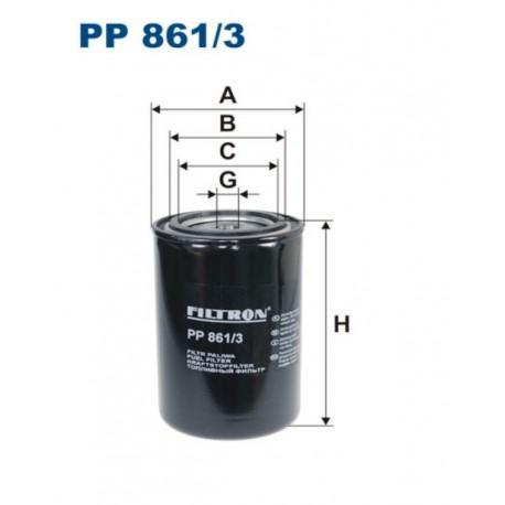 FILTR PALIWA FILTRON PP861/3