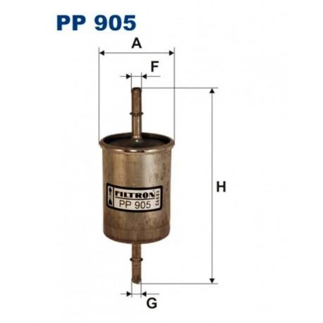 FILTR PALIWA FILTRON PP905