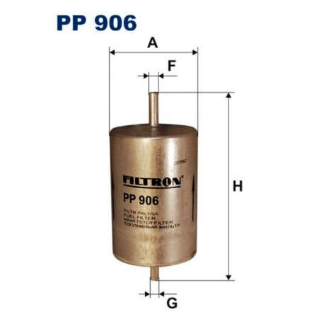 FILTR PALIWA FILTRON PP906