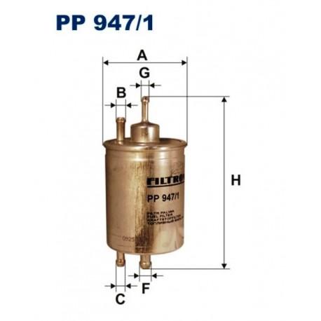 FILTR PALIWA FILTRON PP947/1