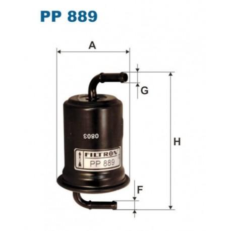 FILTR PALIWA FILTRON PP889