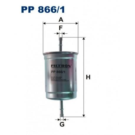 FILTR PALIWA FILTRON PP866/1