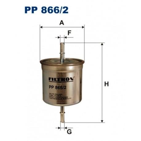 FILTR PALIWA FILTRON PP866/2