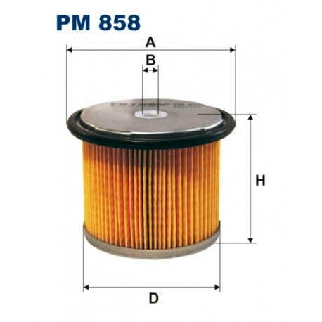 FILTR PALIWA FILTRON PM858