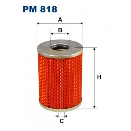 FILTR PALIWA FILTRON PM818